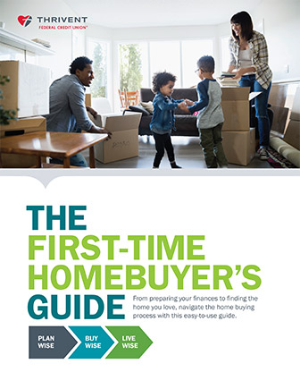 Screenshot of The First-Time Homebuyer's Guide from TFCU